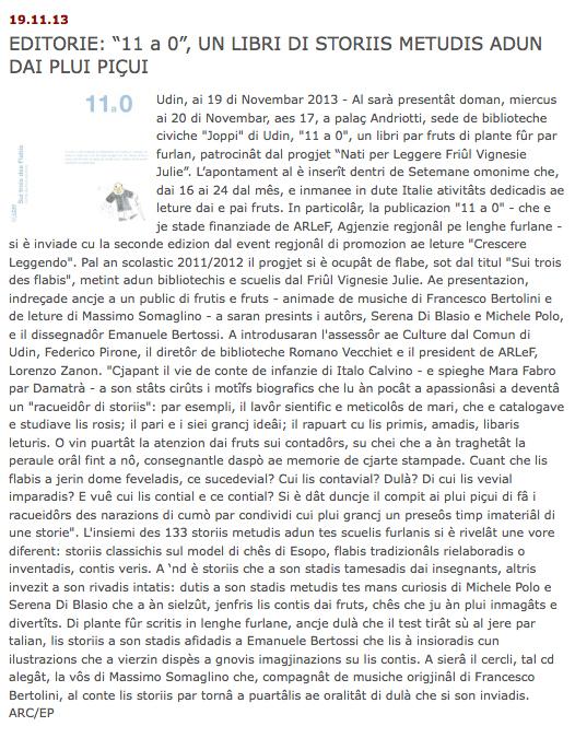 19-11-13 www.regione.fvg.it