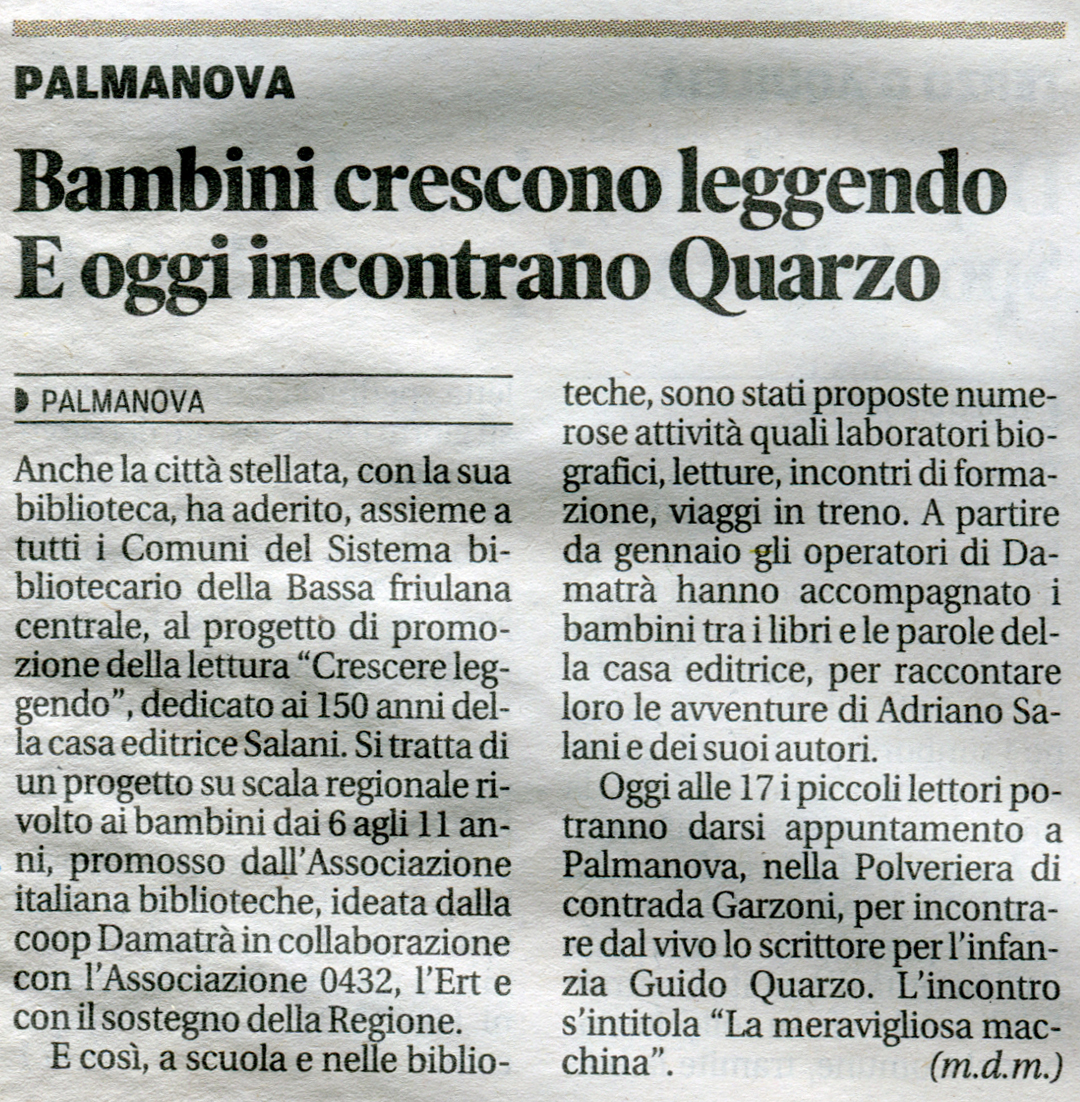 21. 07-05-13 messaggeroveneto cartaceo