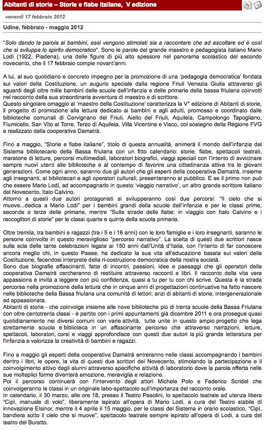 3. 17-02-12 www.letteratura-per-ragazzi