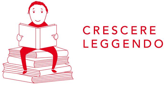 logo monocolore CRESCERE LEGGENDO