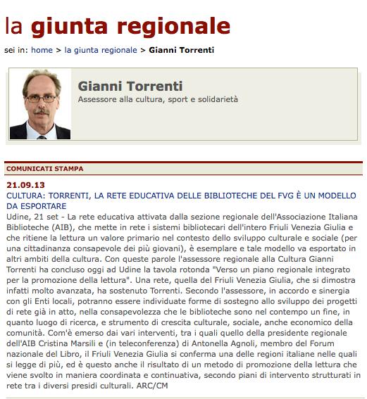 1. 21-09-13 www.regione.fvg.it